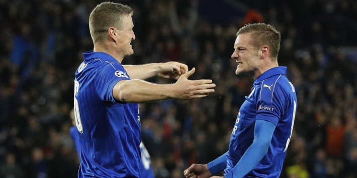 Vardy is blij