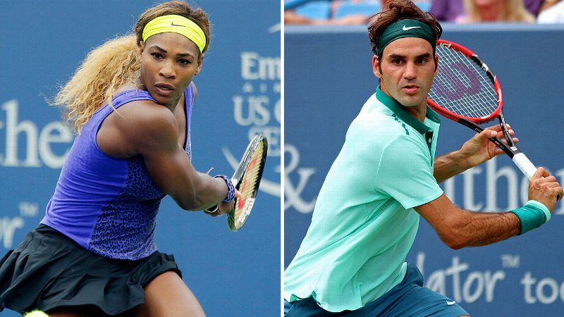 Williams en Federer