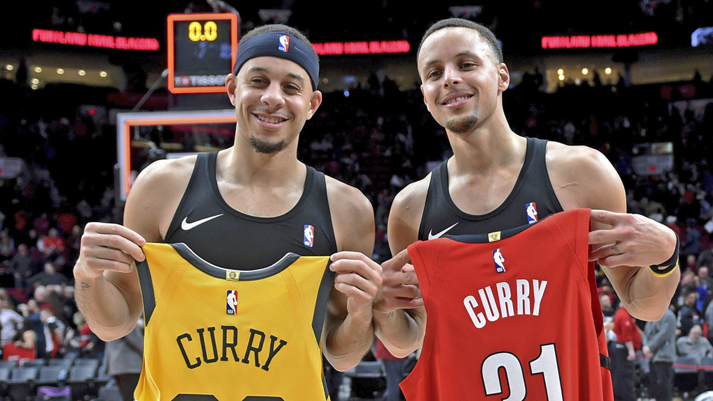 Steph en Seth Curry