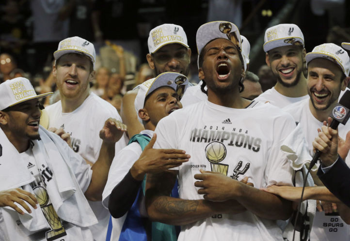Spurs NBA Champs